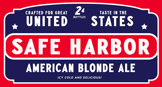 Case pack design for American Blonde Ale